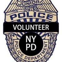 Small NYPD Junior Volunteer Police Badge 3D Printing 97888