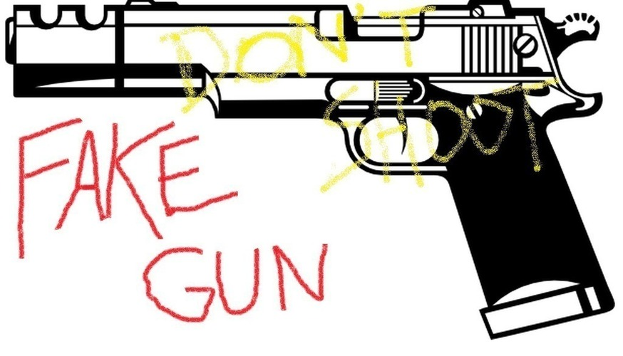 3D printing a fake gun will get you killed 3D Print 97932