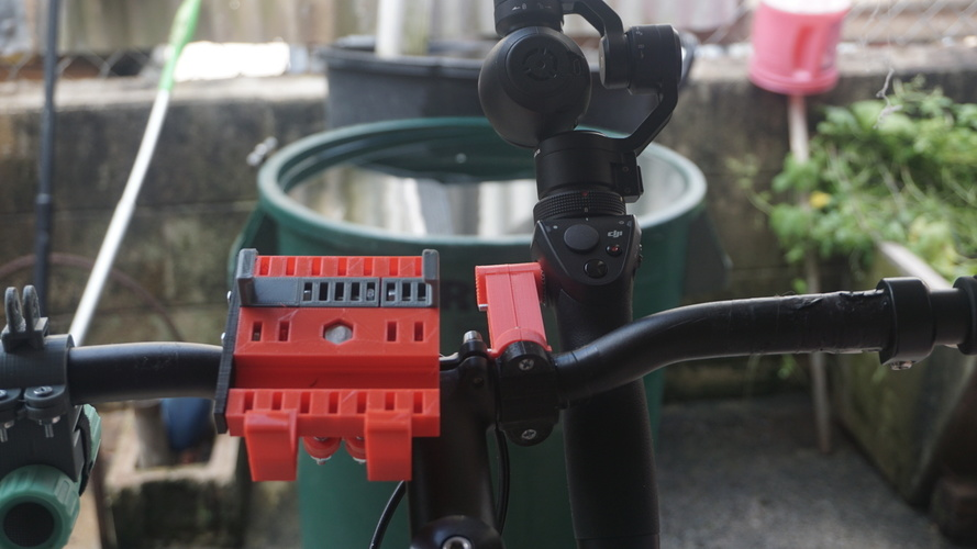 DJI OSMO Bicycle Mount V. 1 3D Print 98151