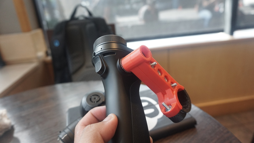 DJI OSMO Bicycle Mount V. 1 3D Print 98153