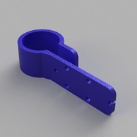 Small MakerBot Mech. Endstop v1.2 Holder for MPCNC (F- 25mm) 3D Printing 98181