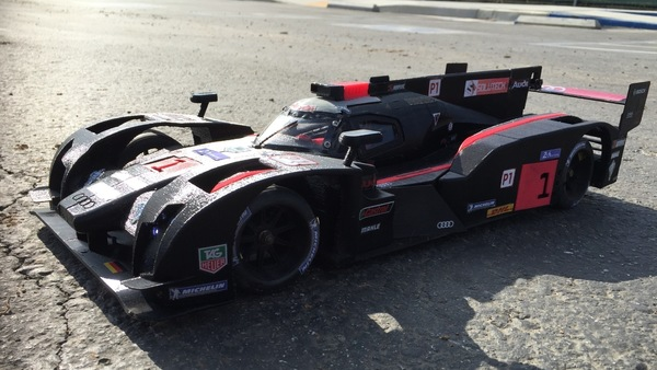 "Medium RS-LM 2014 Audi R18 E-Tron Quattro ""The Ali"" 3D Printing 98266"