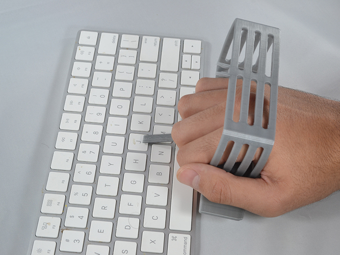 Keyboard Aid for Limited Hand Use 3D Print 98440
