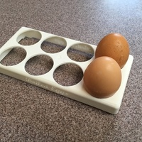 Small Boiled Eggs Tray 3D Printing 98503