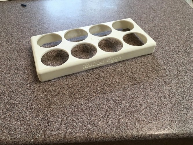 Boiled Eggs Tray 3D Print 98505