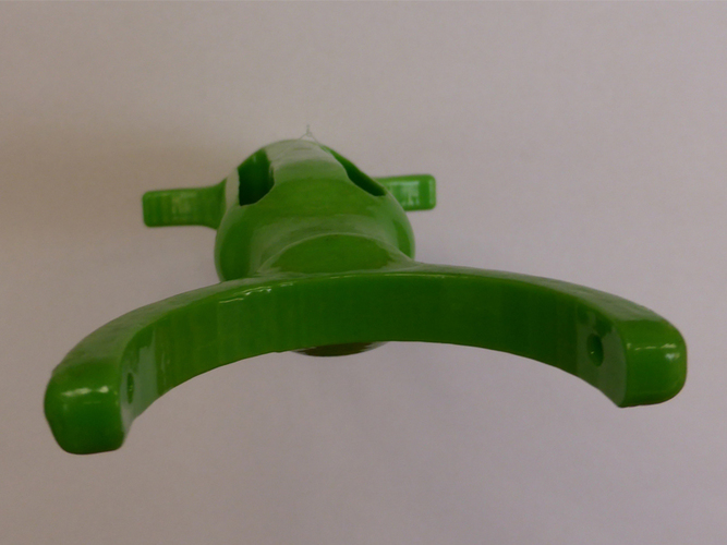 Vegetable Peeler - for people with limited use of their hands 3D Print 98608