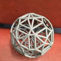 Small Hyperbolic polytope for d=-41 3D Printing 98759