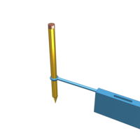 Small Pencil holder 3D Printing 98842