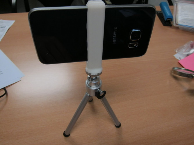 Galaxy S6 tripod adapter 3D Print 98950