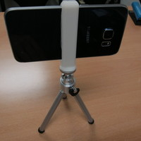 Small Galaxy S6 tripod adapter 3D Printing 98950