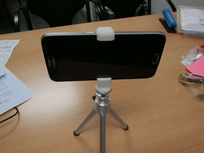 Galaxy S6 tripod adapter 3D Print 98951