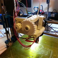 Small Prusa i3 compact extruder 3D Printing 99087