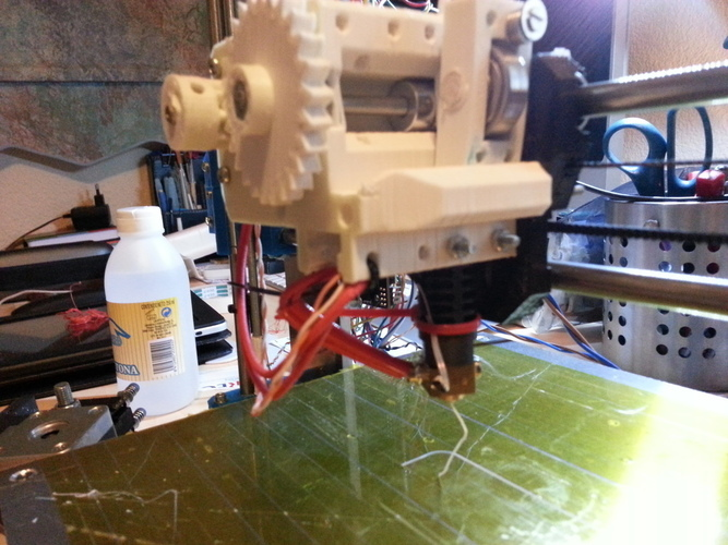 Prusa i3 compact extruder 3D Print 99088