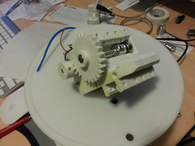 Prusa i3 compact extruder 3D Print 99089