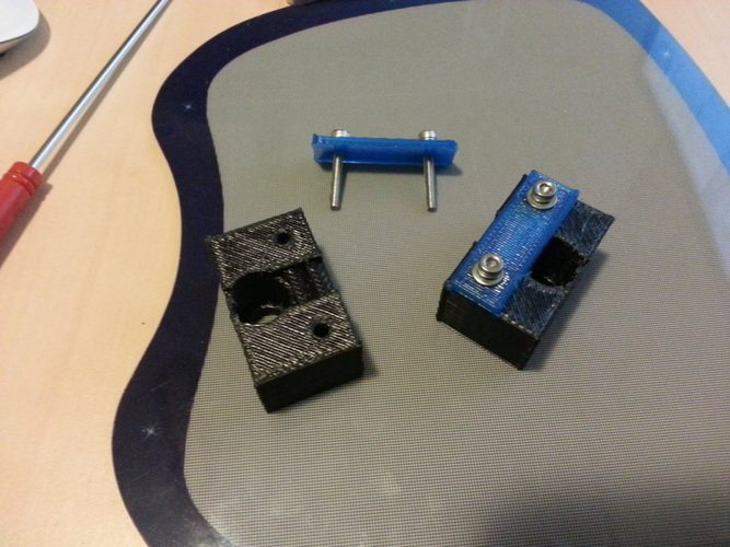 Belt attachment for t-slot extrusions 3D Print 99090