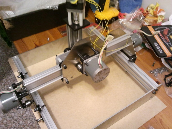 Nema23 mount for ShapeOko. 3D Print 99113