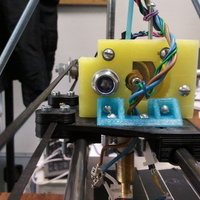 Small Extruder bracket 3D Printing 99116