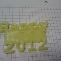 Small Happy 2012 3D Printing 99121