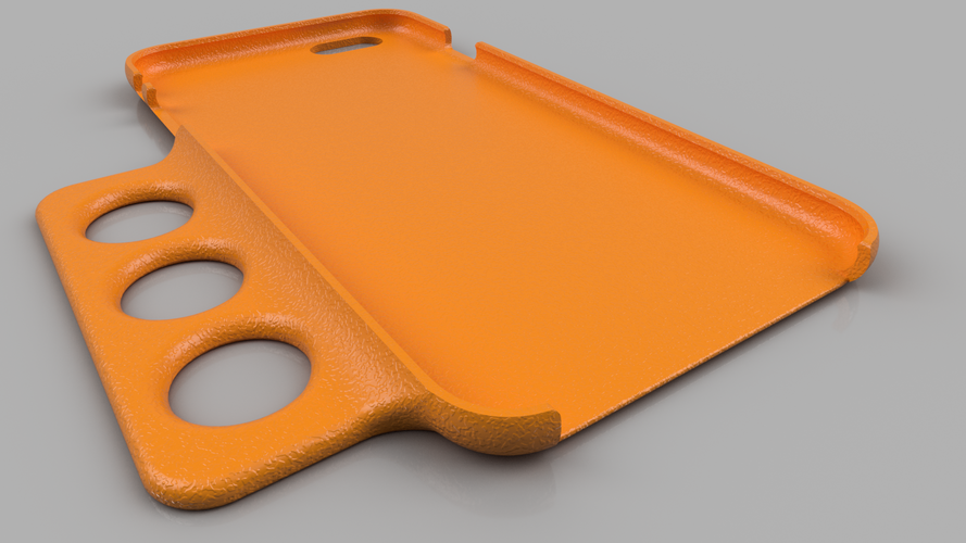 Ergo iPhone 6 Plus Case - For Limited Hand Mobility 3D Print 99145