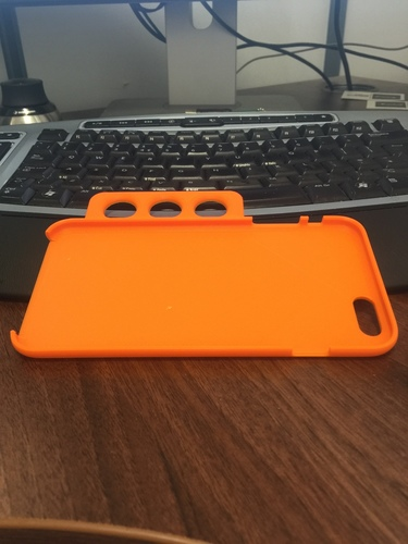 Ergo iPhone 6 Plus Case - For Limited Hand Mobility 3D Print 99155