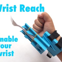 Small Wrist Reach - Enable your wrist 3D Printing 99175