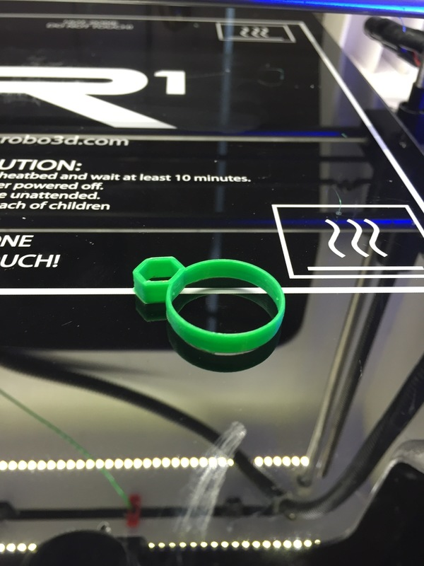 Medium Pencil Ring 3D Printing 99273