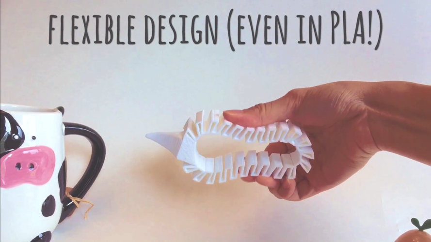 Flexible Typing and Writing Aid 3D Print 99527