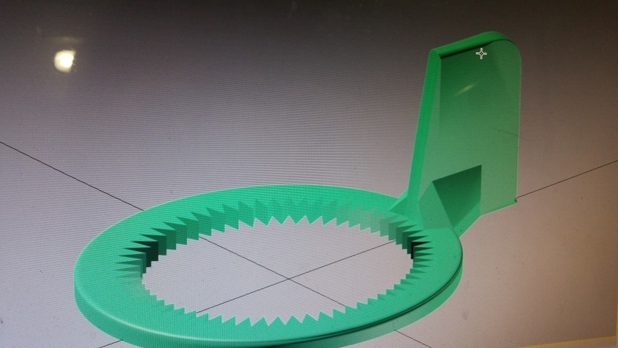 Water bottle opener 3D Print 99790