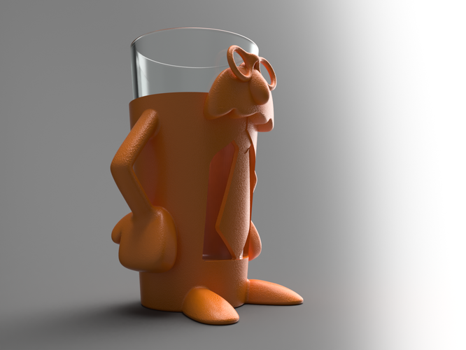 Professor Pint - Add fun and accessibility to your drinking! 3D Print 99825
