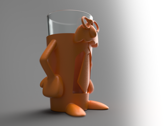 Professor Pint - Add fun and accessibility to your drinking! 3D Print 99826