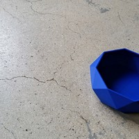 Small Low Poly Bowl 3D Printing 10047