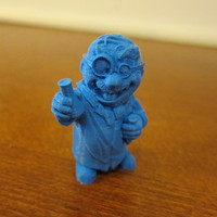 "Small ""The Chemist"" from the World of Makers series 3D Printing 1009"