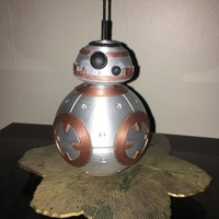 Small BB8 DROID - STAR WARS: THE FORCE AWAKENS 3D Printing 10094