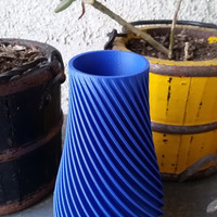 Small Spiral Vase 3D Printing 10118