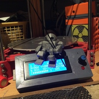 Small Mini Maker Faire Robot Action Figure 3D Printing 10135