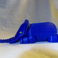Small Elephant 3D Printing 10144