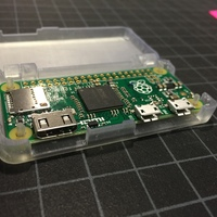 Small One Piece Raspberry Pi Zero Case 3D Printing 10170