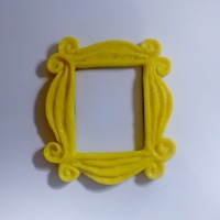 Small Yellow Frame 3D Printing 10215