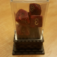 Small Dice Plinth 3D Printing 10262