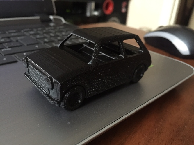 Le FabShop mini Mobile w/ moving parts 3D Print 10268