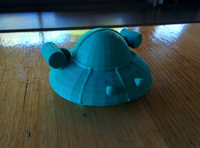 Rick and Morty spaceship 3D Print 10279