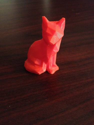 Low Poly Fox 3D Print 10310