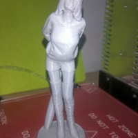 Small Never call me 'babe' 3D Printing 10313
