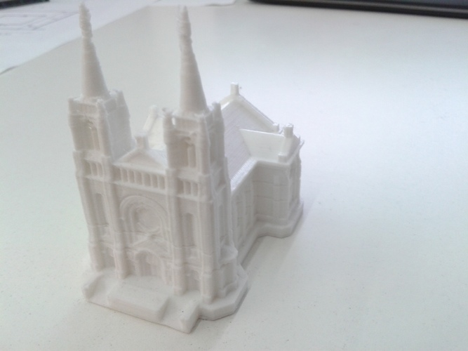 Sioux Falls Cathedral, South Dakota 3D Print 10333