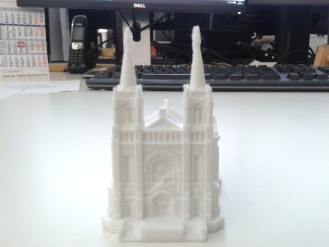 Sioux Falls Cathedral, South Dakota 3D Print 10334