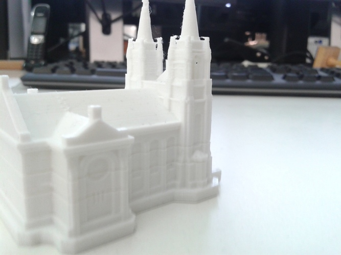 Sioux Falls Cathedral, South Dakota 3D Print 10335