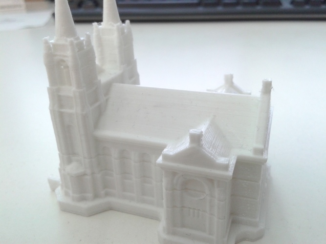 Sioux Falls Cathedral, South Dakota 3D Print 10336