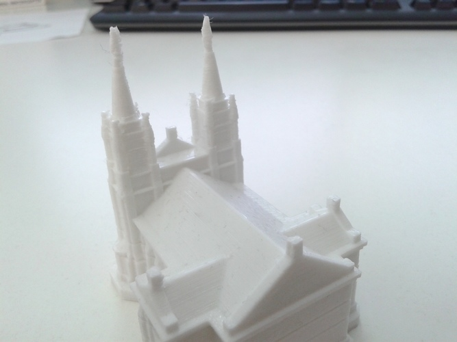 Sioux Falls Cathedral, South Dakota 3D Print 10337