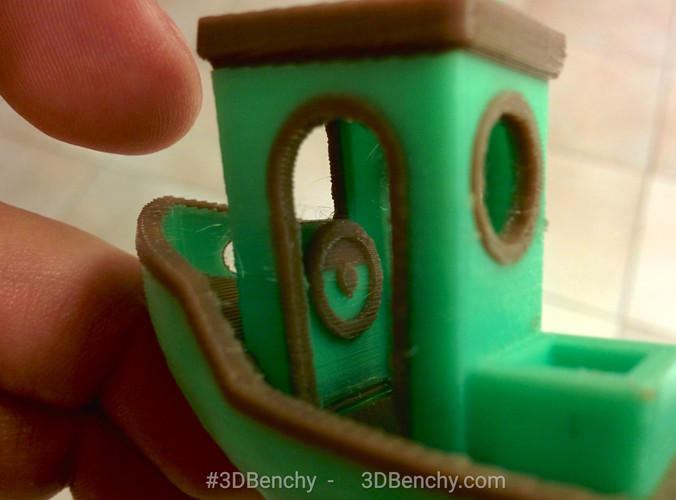 #3DBenchy - The jolly 3D printing torture-test 3D Print 1034