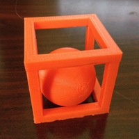Small BALL-IN-A-BOX 3D Printing 10366